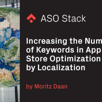 Increasing the Number of ASO Keywords by Localization
