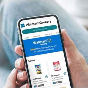 WALMART JOINS DIGITAL PROMOTION PLATFORM FOR GROCERIES